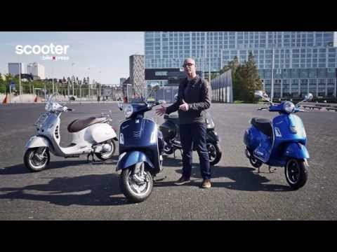 vespa gts 250 en gts 300 overview 2015 youtube. Black Bedroom Furniture Sets. Home Design Ideas