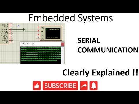 [ES-EN-27]8051 Serial Communication -lesson -27