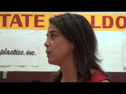 Ferris State Volleyball Vs GVSU Highlights 9-29-15