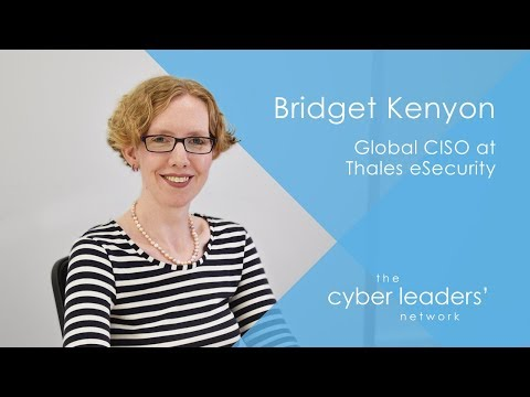 An Interview With Bridget Kenyon, Global CISO At Thales ESecurity