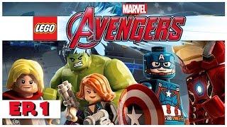 Lego Marvel Avengers - Ep. 1 - Avengers Assemble! - Let's Play Lego Avengers Gameplay