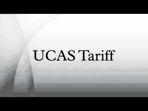 UCAS Tariff