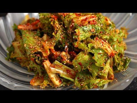 Korean Lettuce Salad (Sangchu-geotjeori: 상추겉절이)
