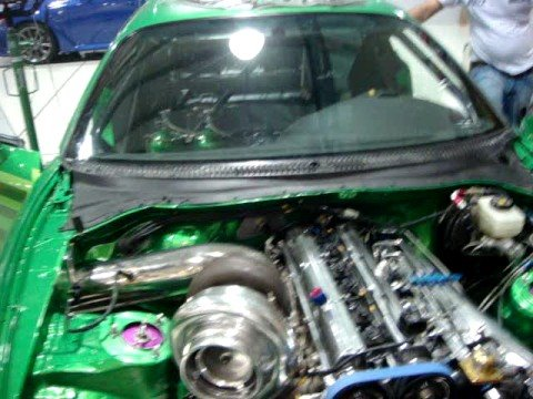 Hulk Supra Initial Fire Up with Pro Mod 90 and Dry Sump