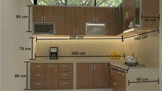 Standard Kitchen measurements..