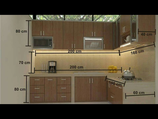 Standard Kitchen Measurements Youtube