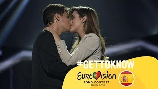 ESC 2018: Get to Know.... ALFRED & AMAIA from SPAIN | Eurovision Song Contest 2018 🇪🇸