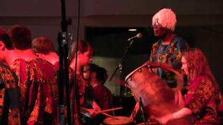 Alfred Ladzekpo Farewell Concert 2011 Agbekor Part 1