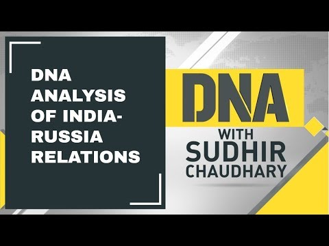 DNA Analysis of India-Russia relations