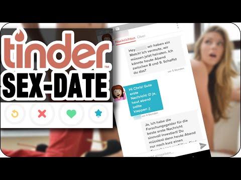 TINDER SEX DATE vom Anschreiben bis zum Date (KOMPLETTER CHAT) | Deutsch