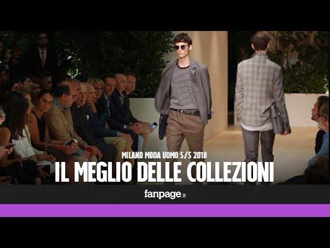 Milano Fashion Week, le collezioni top della Moda Uomo S/S 2018