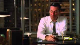 Mad Men 4x07 - Roger's book (Sterling's Gold)