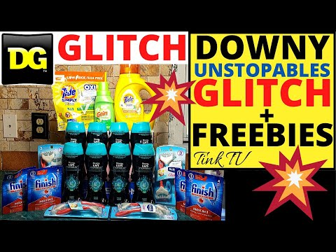 💥GLITCH ON DOWNY UNSTOPABLES AT DOLLAR GENERAL💥 LOW OUT OF POCKET DEALS + FREEBIES💥 $5/$25 SCENARIO💥