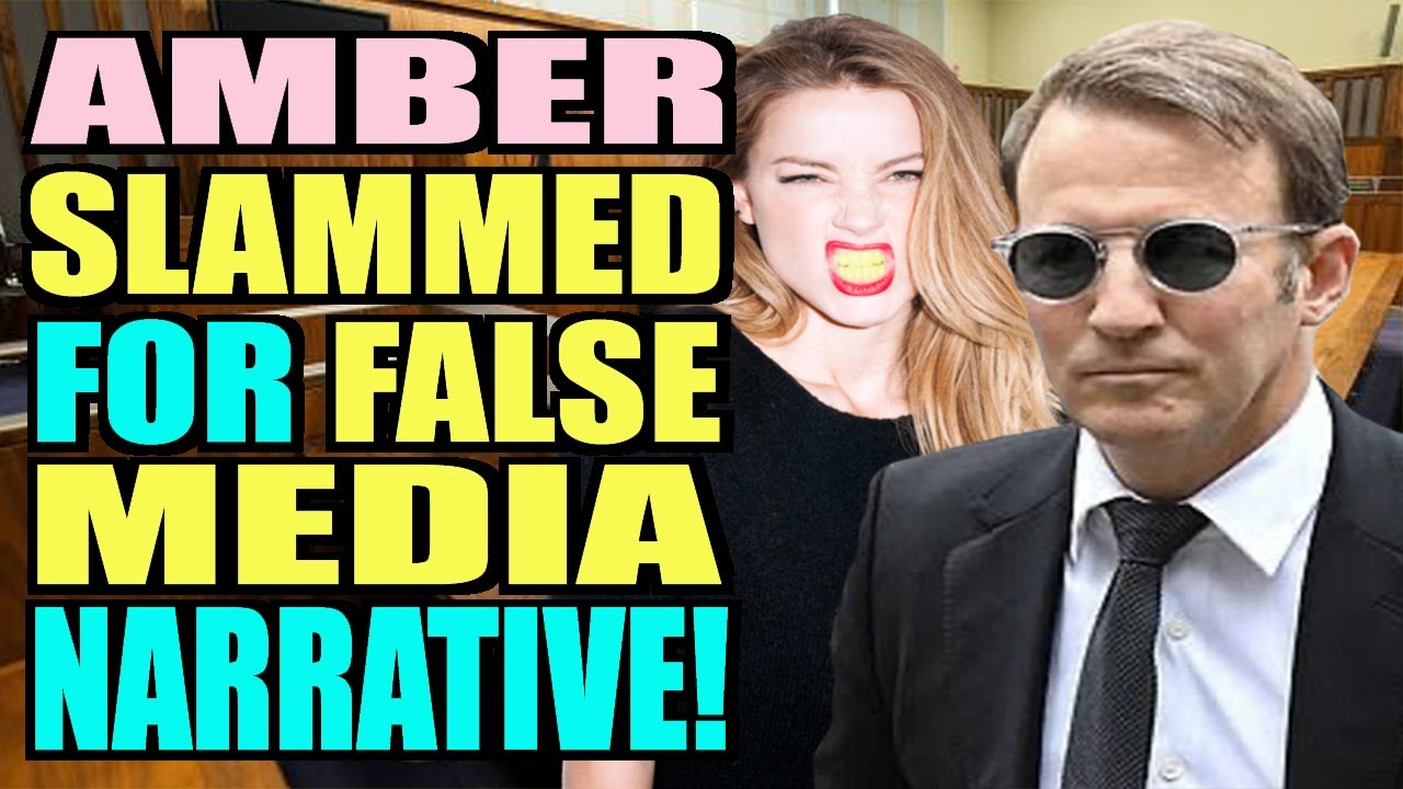 Amber Heard and Team SLAMMED for False Media Narrative by Johnny's Laywer! (New)