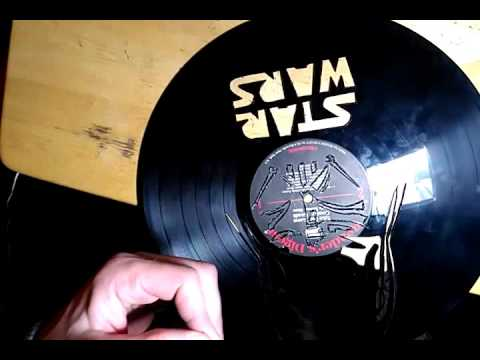 How to carve vinyl art Star Wars lesson