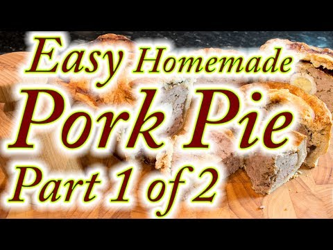 Pork pies made at home, easy step by step instructions. Part 1