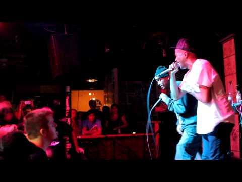 Murs and Fashawn performing 'Slash Gordan'