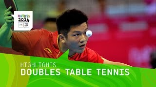 China Win Doubles Table Tennis Gold  - Highlights | Nanjing 2014 Youth Olympic Games