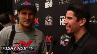 "Sergey Kovalev ""Im tired of Adonis Stevenson, Come to fight; 50/50 split. He"