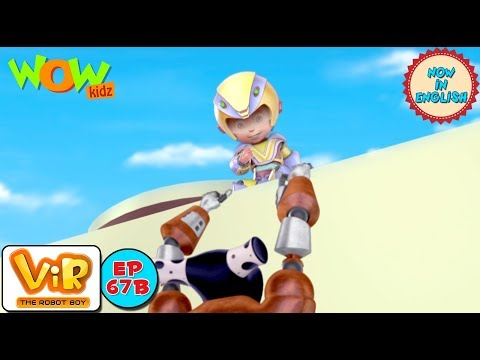 Vir: The Robot Boy - Gold Thief Alien - As Seen On HungamaTV - IN ENGLISH