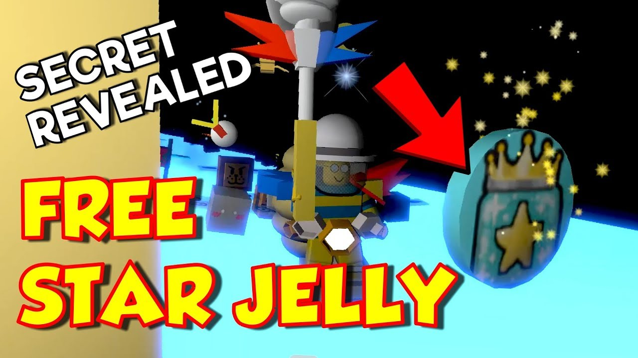 How To Get A Free Star Jelly In Bee Swarm Simulator Secret