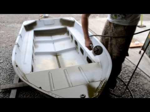 Покраска лодки в камуфляж своими руками видео