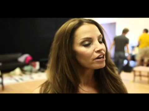 Behind the Scenes at Sweat Equity with Trish Stratus!