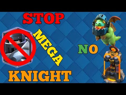 5 ways to stop mega knight without inferno tower/inferno dragon