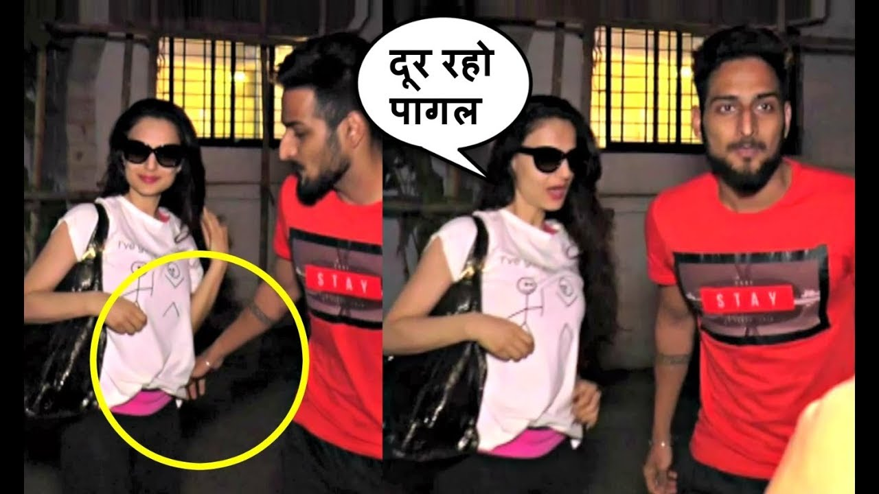 Ameesha Patel Fan Misbehave With Her