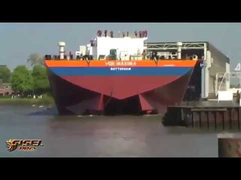 Thumbnail: Awesome big ship launches