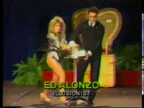 Ed Alonzo at Asian expo 1987 first Twister illusion performance