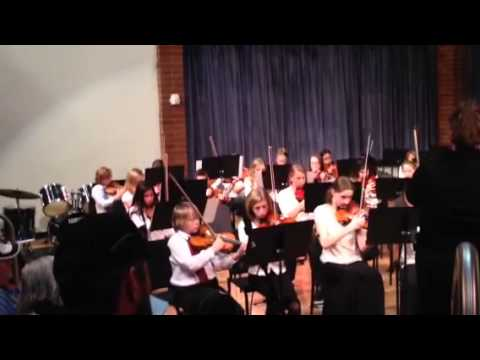 Albion middle school Christmas concert