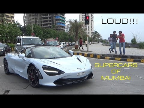 LOUD SUPERCARS OF MUMBAI | INDIA | SEPTEMBER 2017