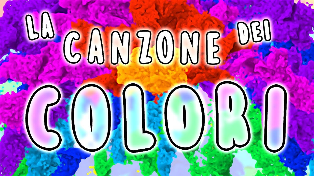 La Canzone Dei Colori Canzoni Per Bambini Baby Cartoons Baby Music Songs