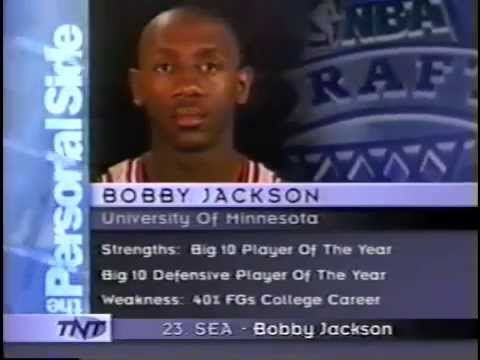 1997 NBA Draft : Bobby Jackson (23)