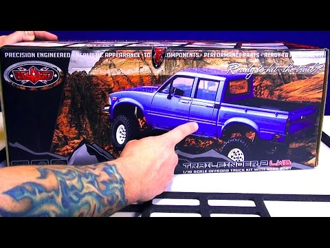 RC ADVENTURES - Full Assembly / Trail Truck 4x4 Roller! Toyota Mojave 2 - RC4WD TF2 LWB 1/10th scale