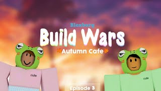 ROBLOX Bloxburg: BUILD WARS | Autumn Cafe | Ep 3.