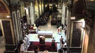 (1) - Hallelujah - Coro Capuchino en Iglesia Santo Domingo