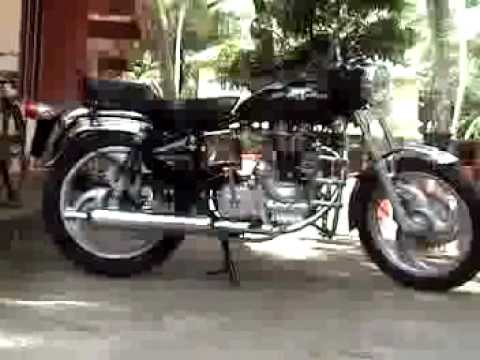 New Royal Enfield Bullet Electra 5s - YouTube
