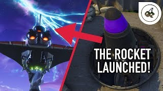 FORTNITE - Rocket Launch Destroyed the Sky! (Gameplay)