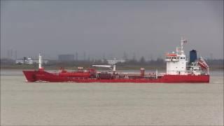 Thames Shipping by Richie Sloan, The NORTHSEA SENSE. Tanker.
