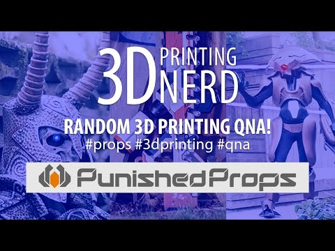 3D Printing Q&A with Bill Doran from Punished Props