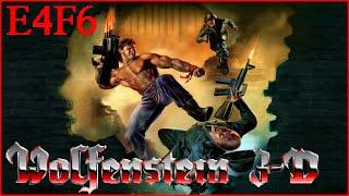 Wolfenstein 3D: Nocturnal Missions (1992) E4F6 All Secrets - I Am Death Incarnate 100% Walkthrough