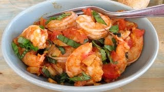 Shrimp With Fennel And Tomatoes -- The Frugal Chef