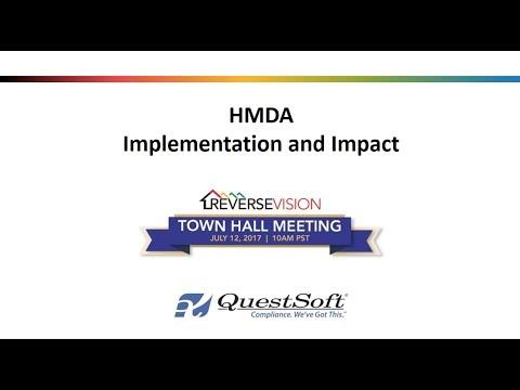 HMDA webinar July 12, 2017