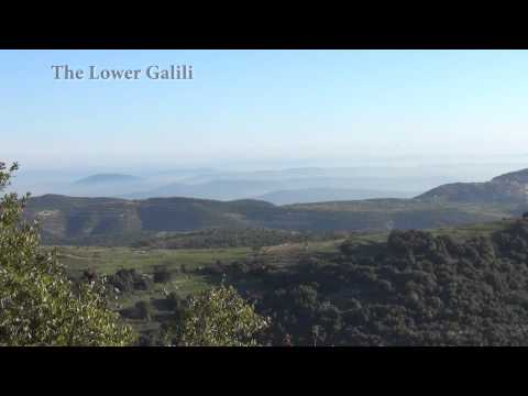 Amazing lookout from Mount Meron, the highest peak of the galili, israel tour.