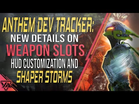 Anthem | New Details on Weapon Slots and Shaper Storms
