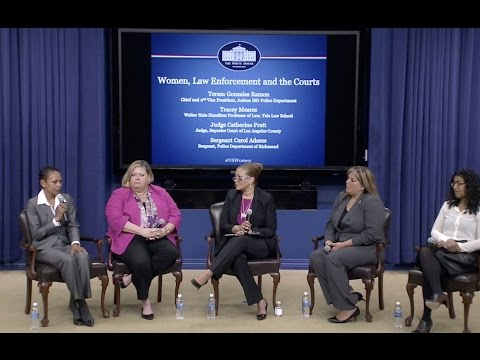 The White House Hosts a Convening on Women and the Criminal Justice System