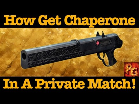Destiny: How To Complete Chaperone Quest In A Private Match! (Last Word Kills In Private Matches)