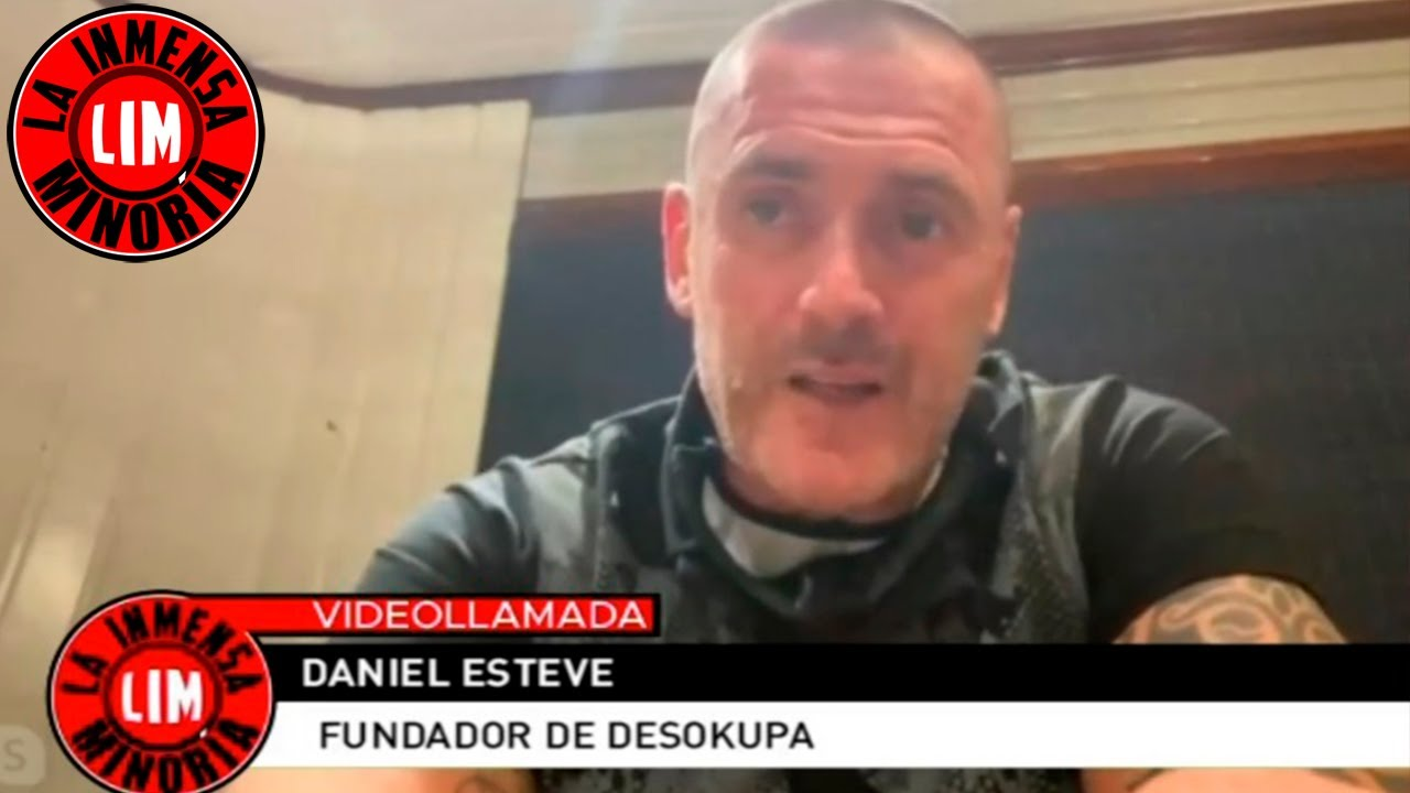 Entrevista completa a Daniel Esteve fundador de Desokupa